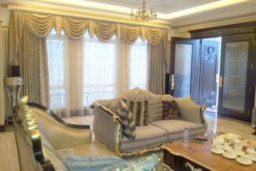 Lắp đặt rèm vải Nhật cao cấp nhà chị Trà Vincom Sài Đồng