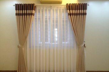 Lắp rèm vải hoàn thiện nhà chị Yến Vĩnh Yên – Vĩnh Phúc