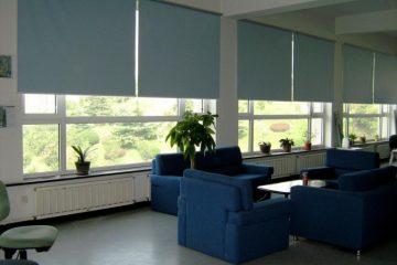 Lắp đặt rèm cuốn văn phòng cho công ty LG Tầng 34 Keangnam Landmark