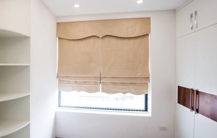 Rèm Roman cho phòng ngủ hiện đại
